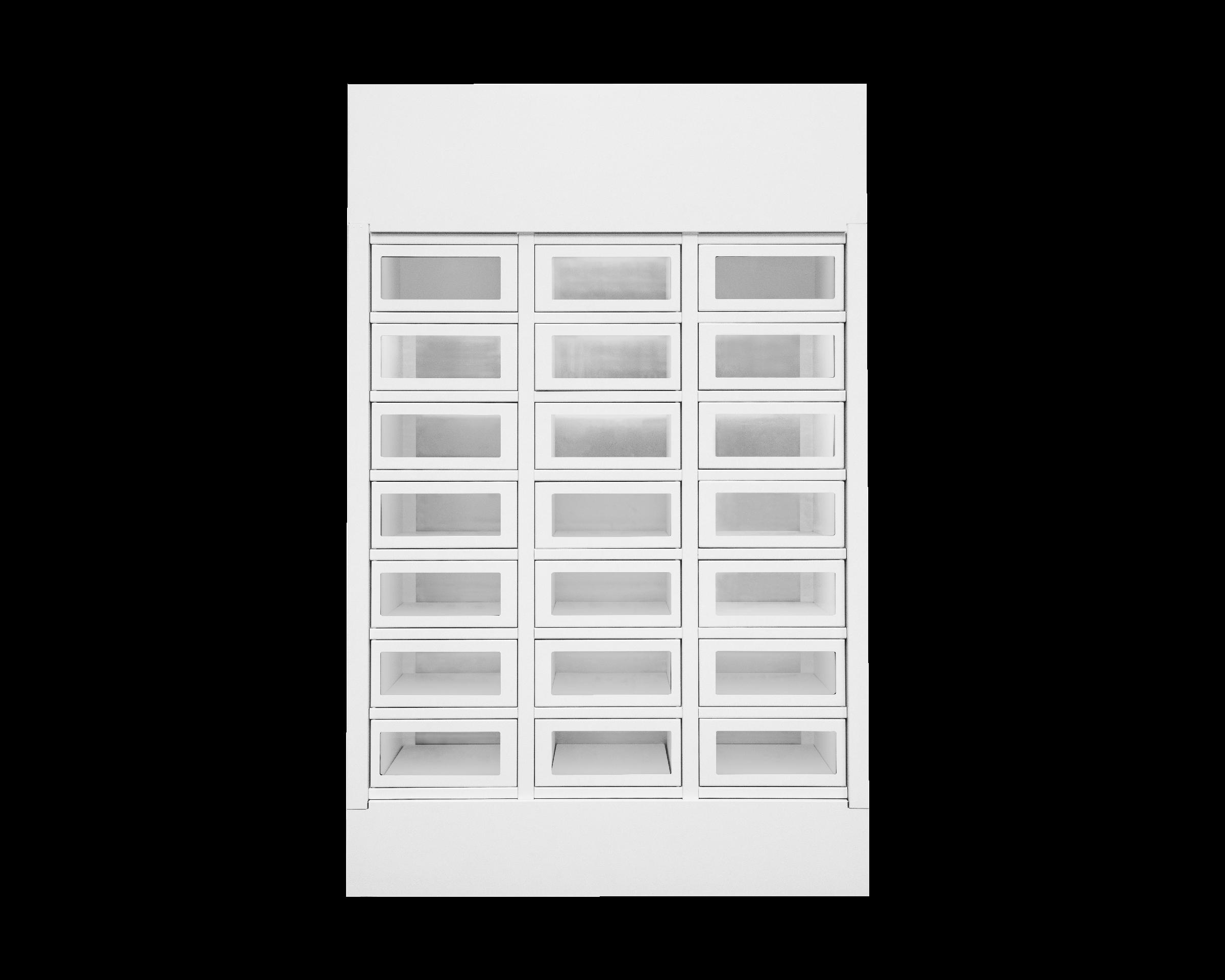 Le Casier Français module 21 lockers