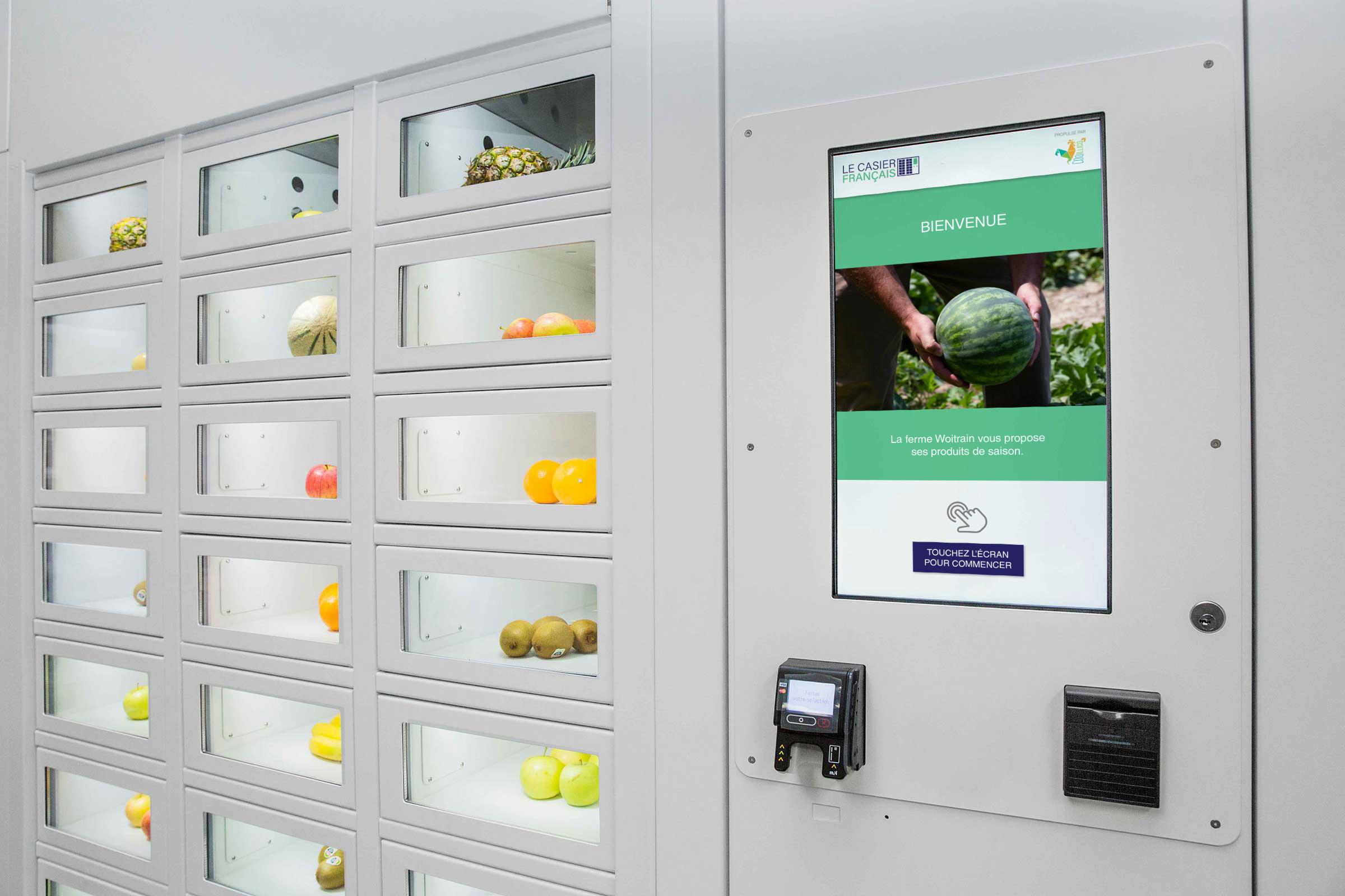 Control unit for Le Casier Français vending machine